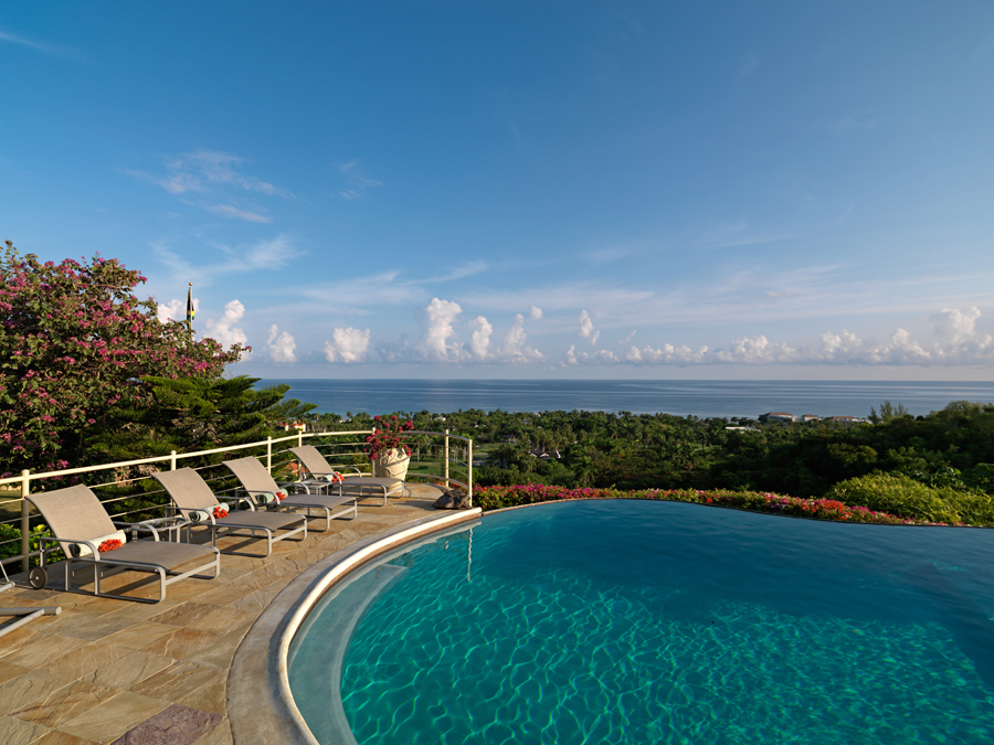 ... sited for its breathtaking panorama of the Caribbean Sea.