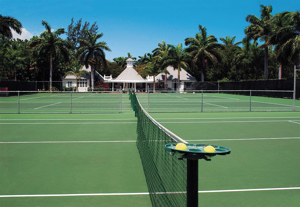 ...and excellent tennis facility. Tek Time guests have complimentary membership.