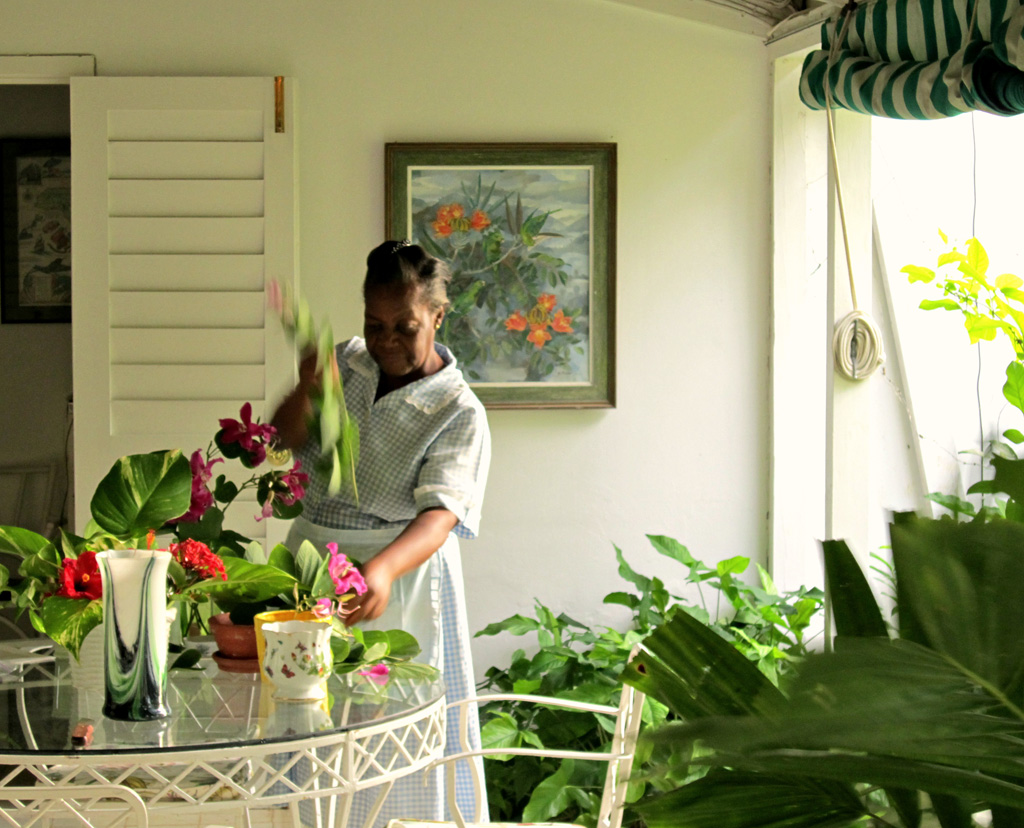 Fresh flowers from Summerland's own gardens brighten every room every day.