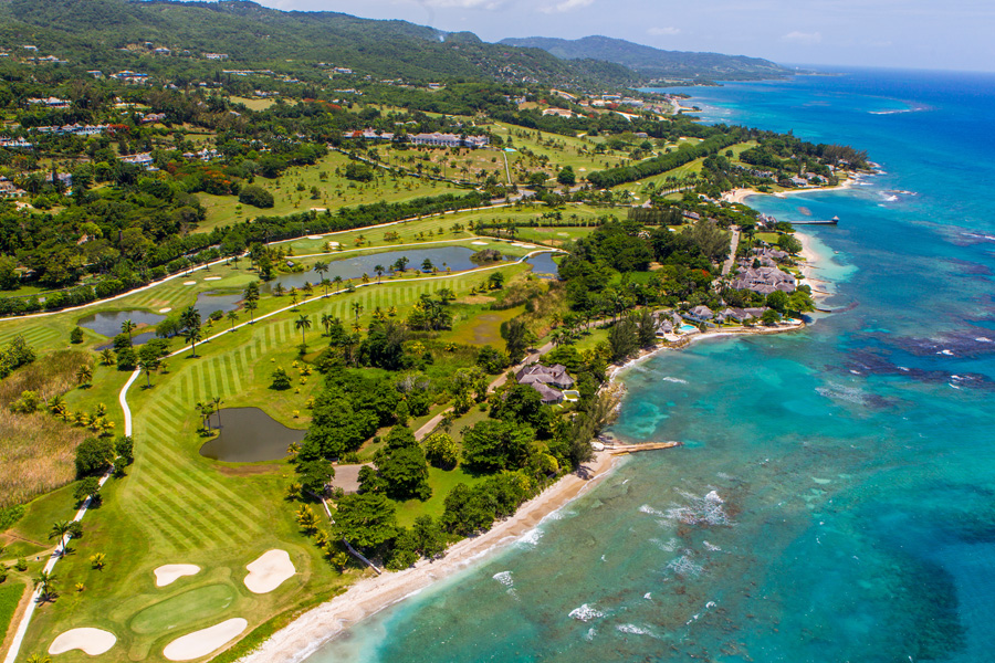 Infinity is located on the 2,200-acre Tryall Club, one of the world's most beautiful golf courses. Truly one of the distinctive private clubs of the world, Conde Nast has placed Tryall Club o