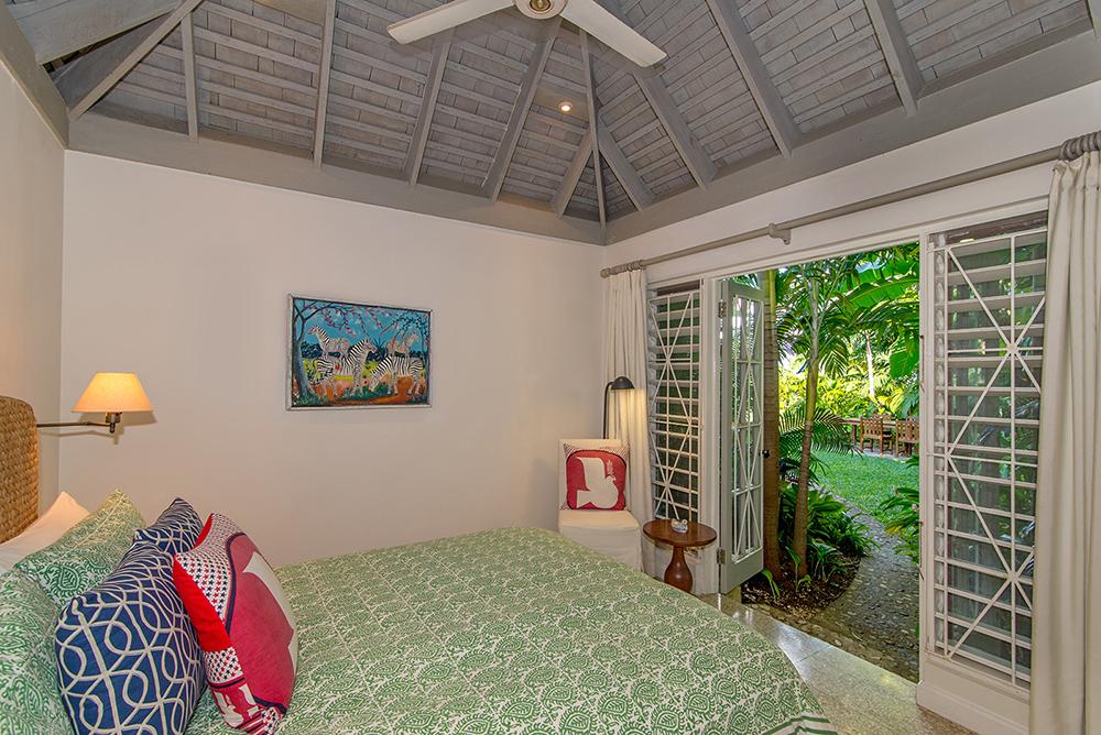 Bedroom 4 offers a queen-size bed with en-suite shower room.