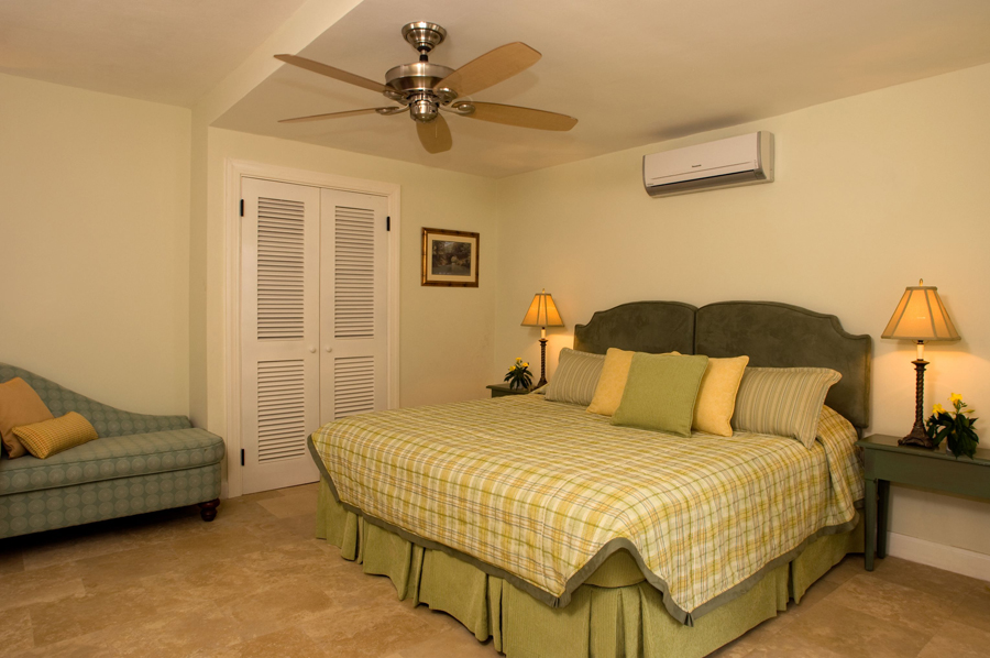 Two of the downstairs bedrooms adjoin for a convenient child-parent suite.