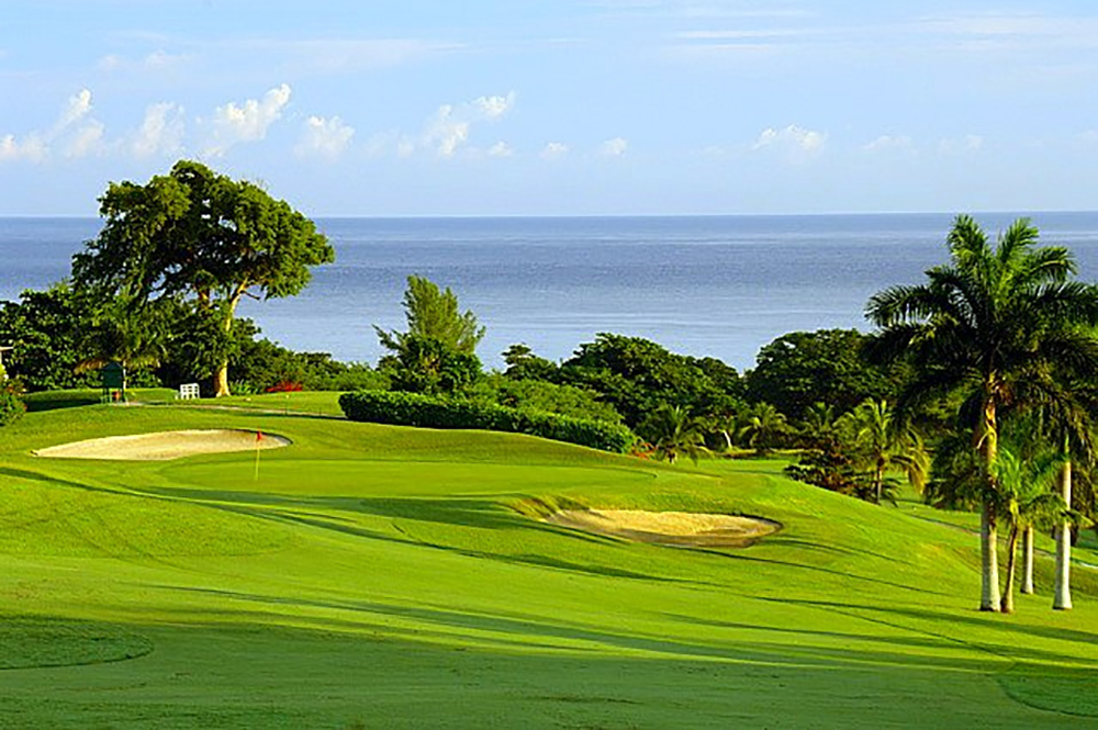 For more space, venture out in one of the villa carts onto the 2,200-acre resort and marvel at the velvet greens of the famous golf course.