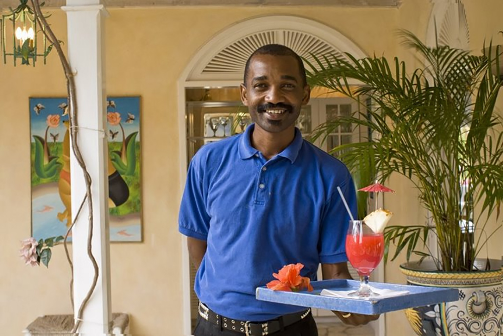 May your only interruption be butler Wayne delivering his own exclusive blend of rum punch.