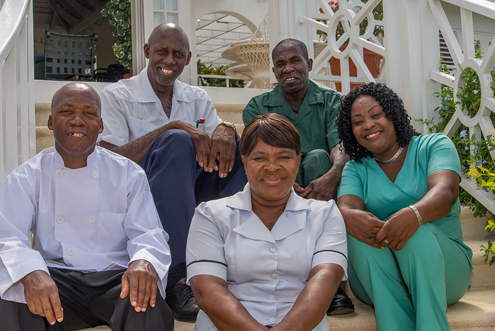 No tale of this happy house is complete without loving mention of its caring longtime staff members.  They make it happen.  © Photographs Copyright Nigel Lord 2015 © Captions Copyright Lin