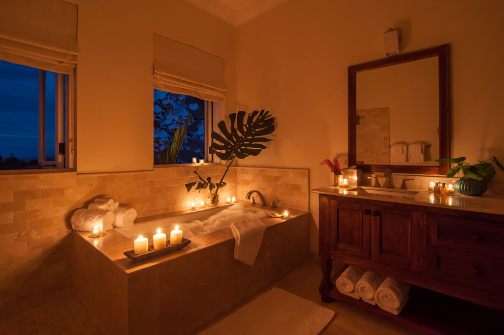 From earliest eyes open to a candlelit evening bubble bath ...