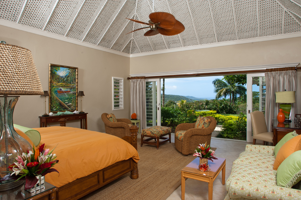 The Master Bedroom features a king size bed and one of the most beautiful views of anyone''s dreams