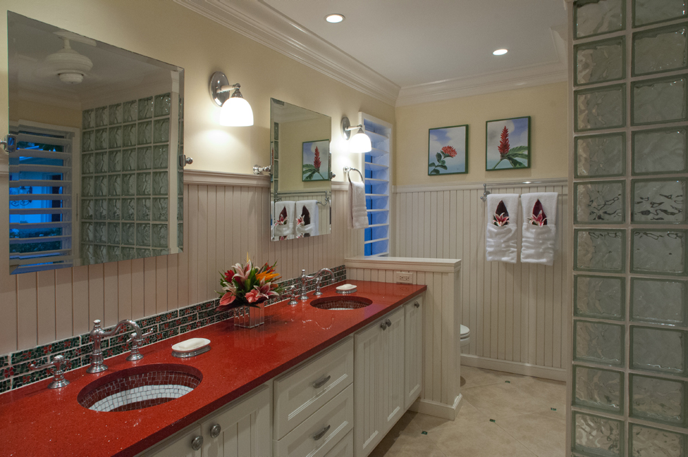 ... with en-suite bathrooms, all of which  feature double vanities.