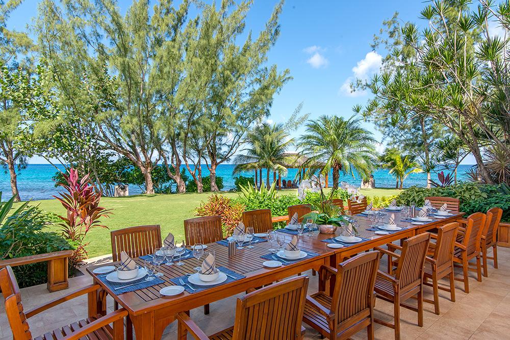 Dining terrace