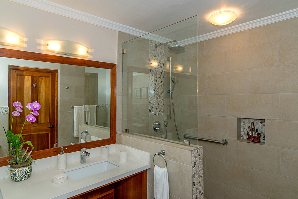 with en-suite shower, suitable for disabled access