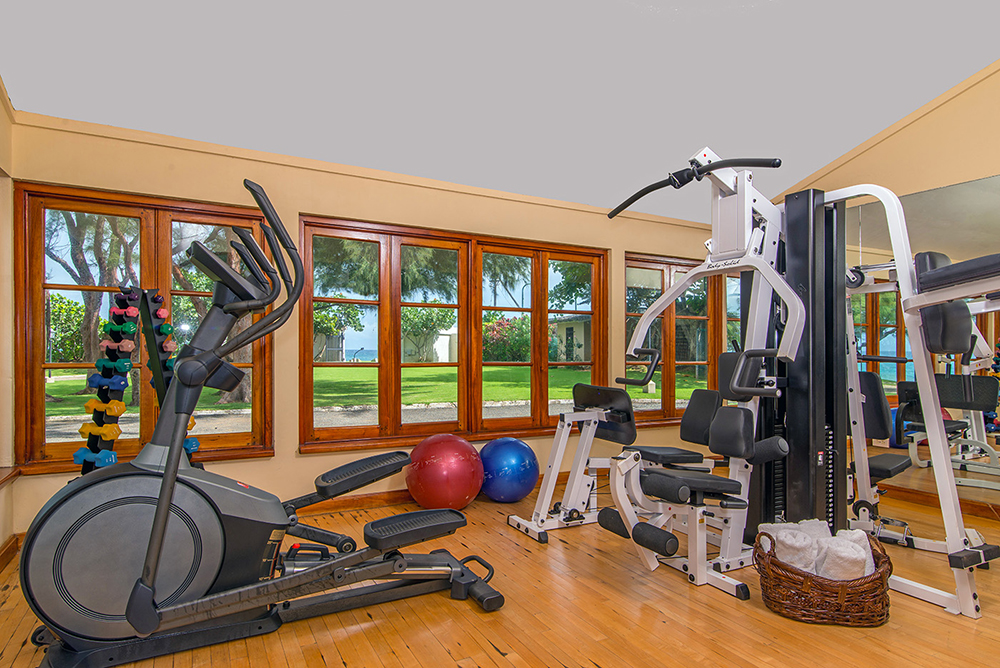 Air-conditioned gym