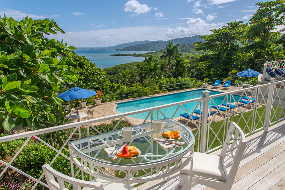 Ask long-standing butler Stanley to place eye-opener Jamaican coffee, mango, melon and papaya on your deck each morning.
