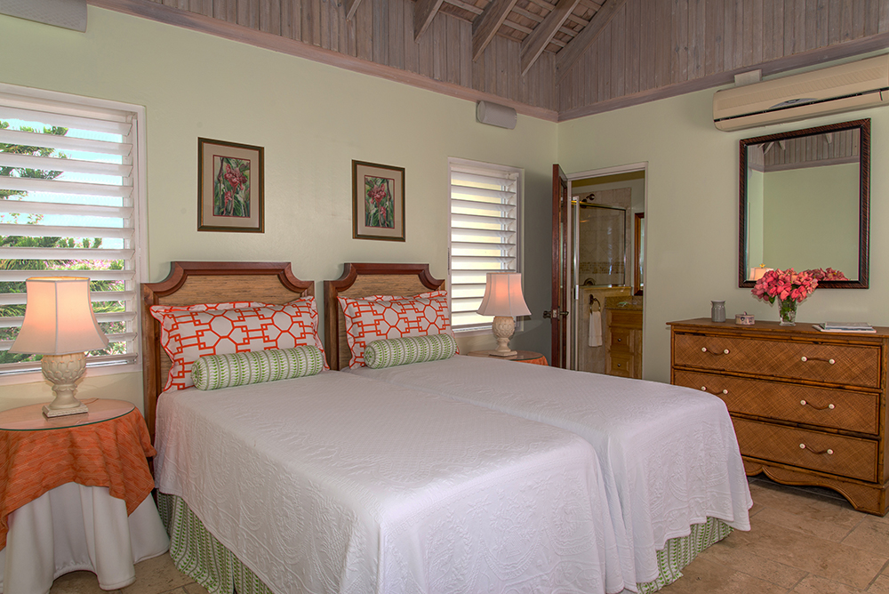 Bedroom 3 can be king- or twin-bedded at guests' option.