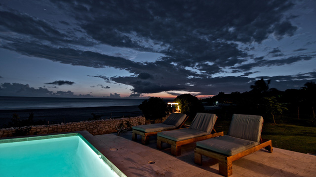 The Jamaican sunset lasts long, so stretch out to catch the massive, mottled sky give way to a million stars ...