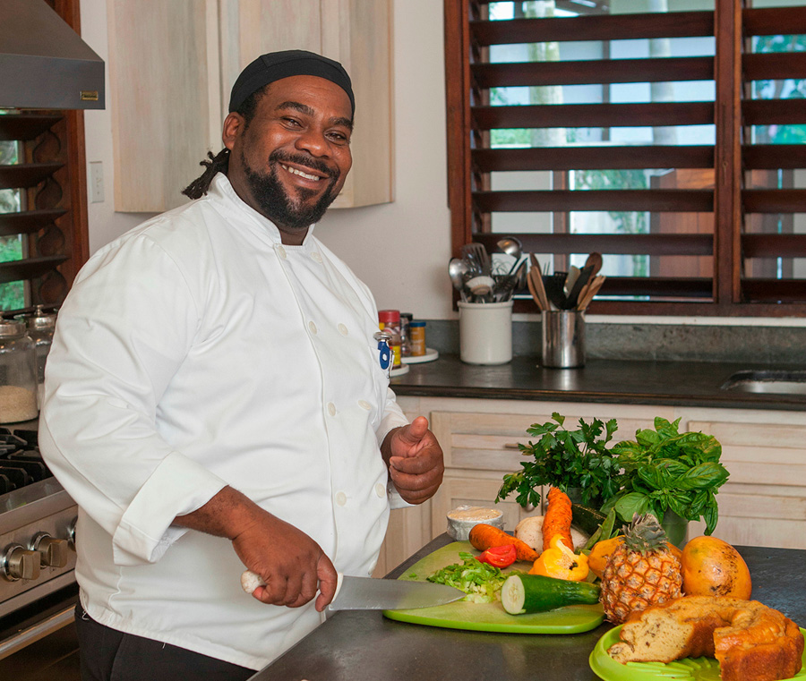 Meals at Point of View merit special mention.  Chef Conrad excels at his craft and takes special pride in his organic herb garden.