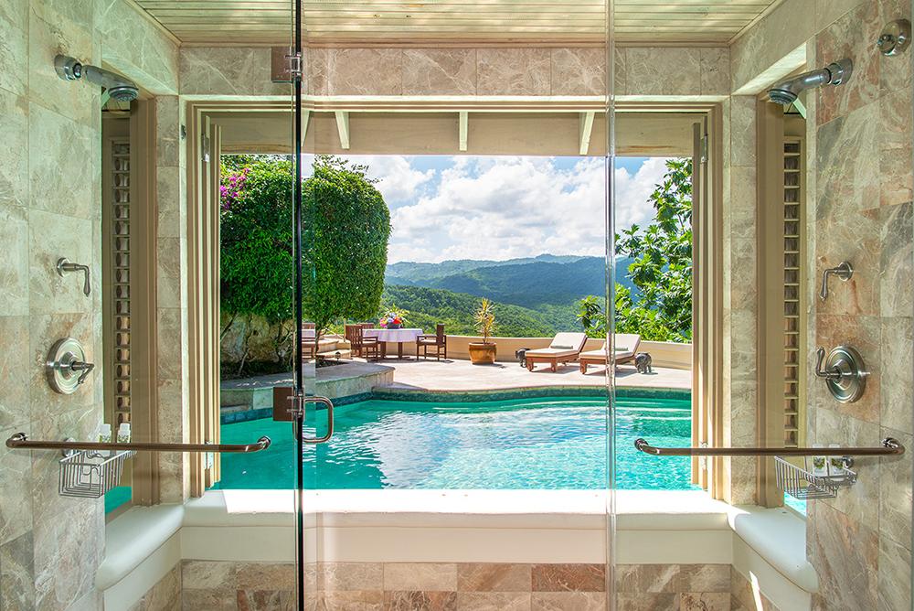 Owner's Villa Shower and Sundeck