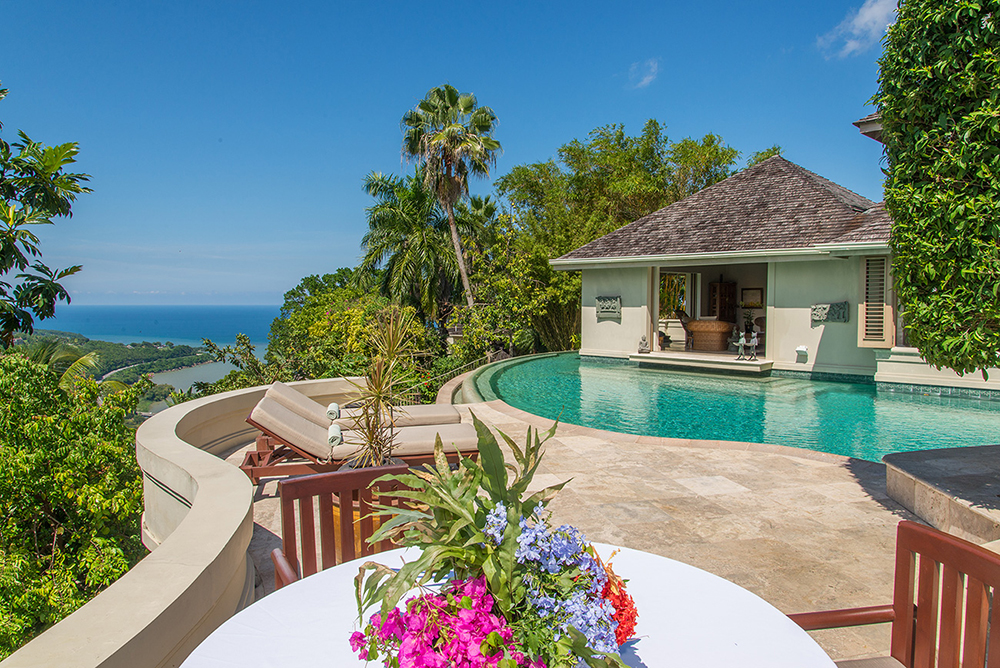 Owner's Villa Pool, Sundeck and Bedroom