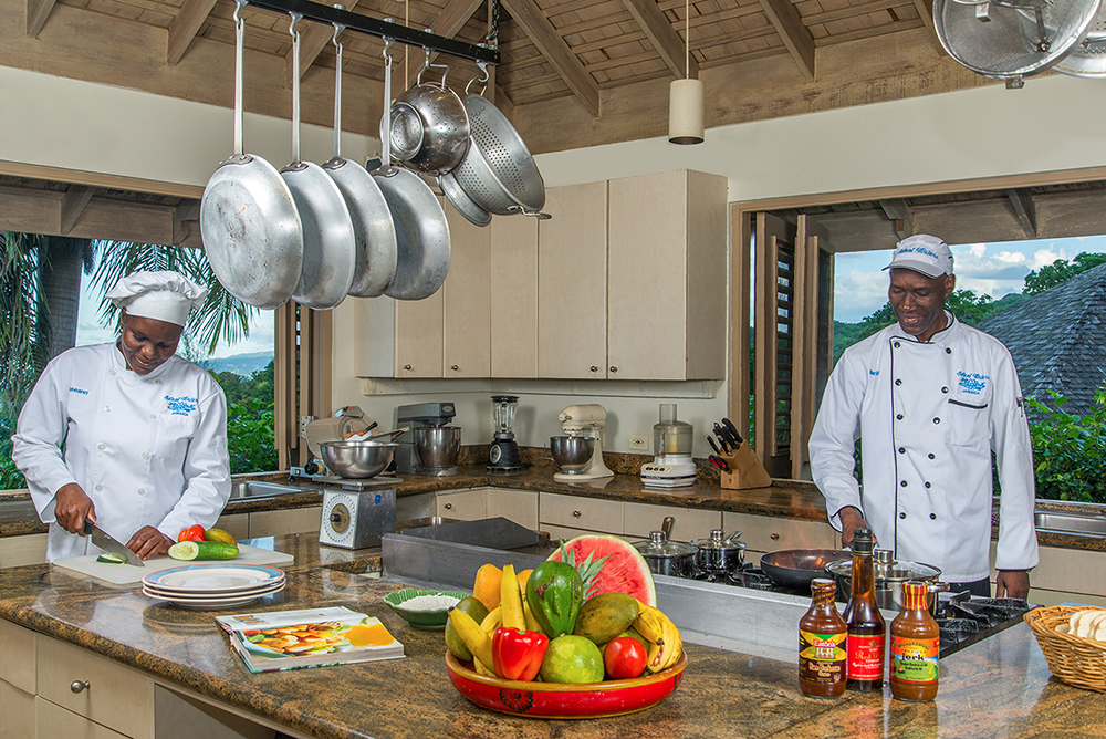Kitchen with Chef and Sous Chef