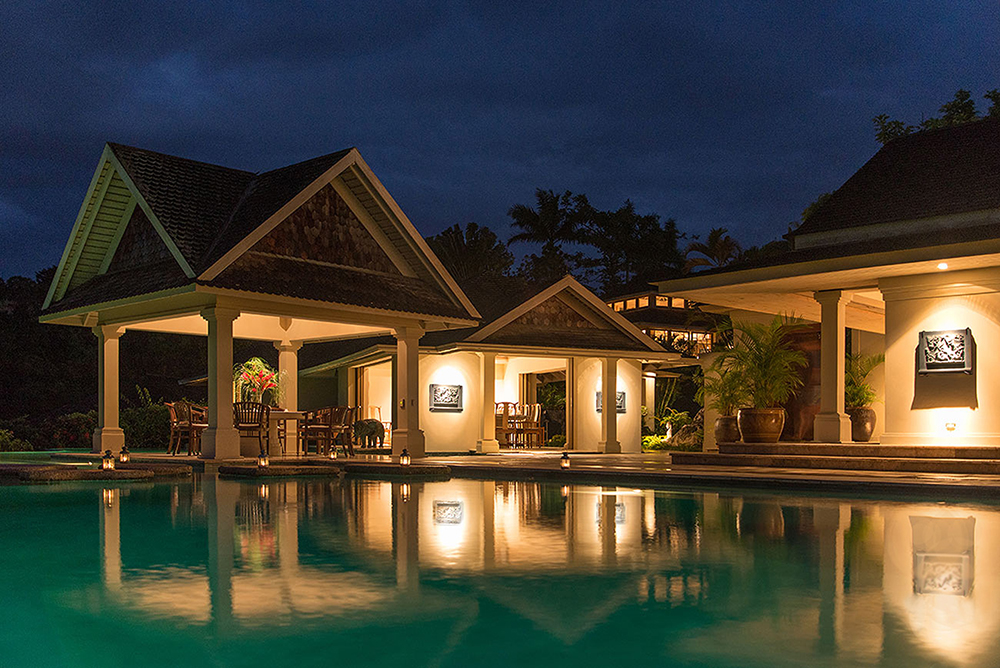 Pool Gazebo and Dining Room Pavilion