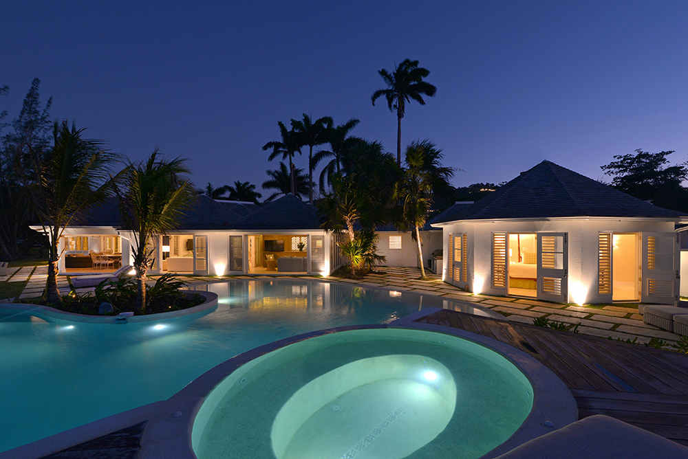 ... with an extraordinary heated pool and hot tub.