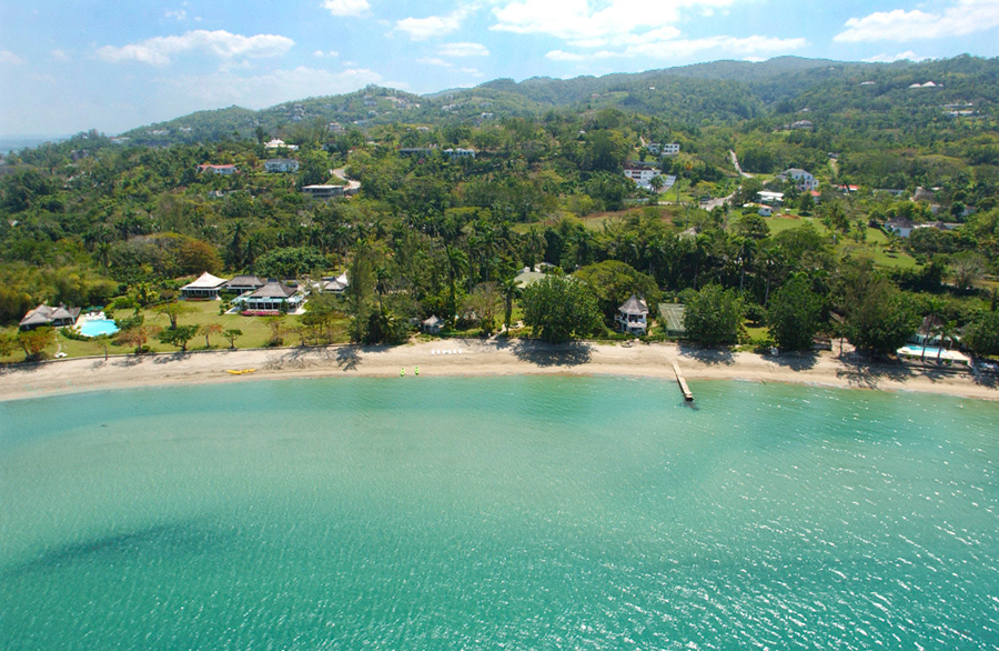 Tranquillity, Serenity and Noble House form an 8-acre beachfront mini-community. Combining these 3 homes creates a 14-bedroom compound with 3 pools, tennis court, long beachfront and staff of